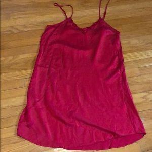 Vintage 💯 silk slip dress